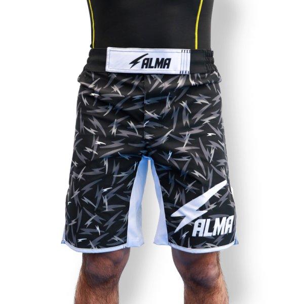 画像1: ALMA Fight shorts THUNDER (1)