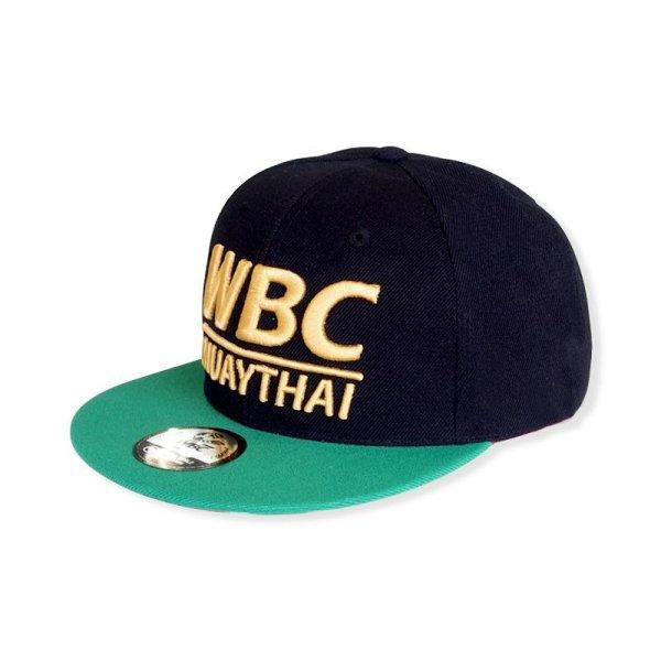 画像1: WBC MUAYTHAI CAP BASIC LOGO (1)