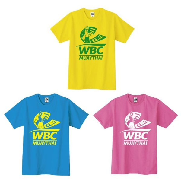 画像1: WBC MUAYTHAI S/S  KIDS Tee 1C LOGO (1)