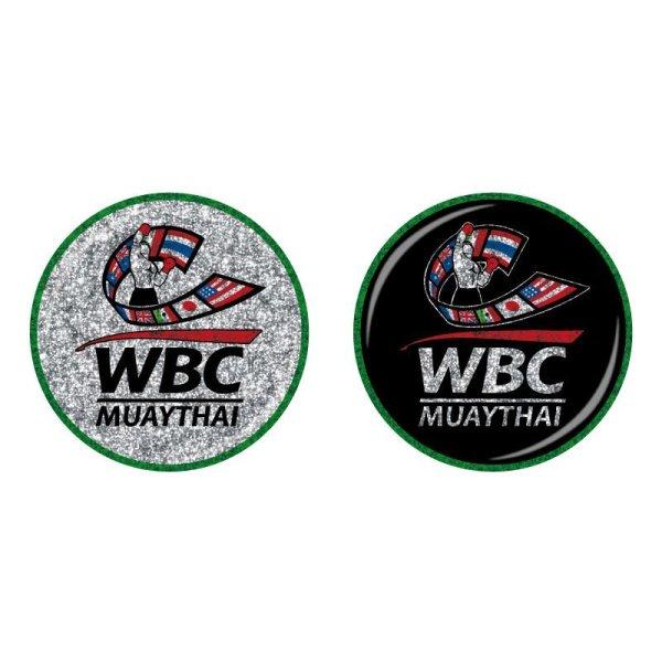 画像1: WBC MUAYTHAI Badge BASIC LOGO (1)