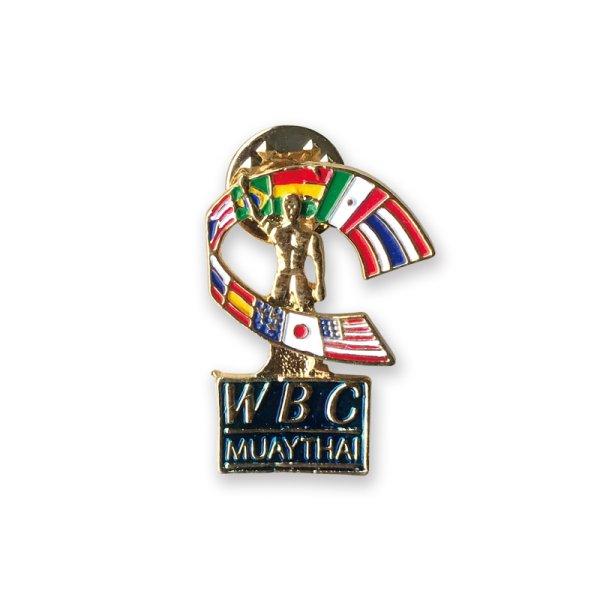 画像1: WBC MUAYTHAI  ピンバッジ (1)