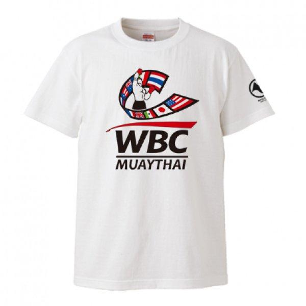 画像1: WBC MUAYTHAI S/S Tee BASIC LOGO (1)
