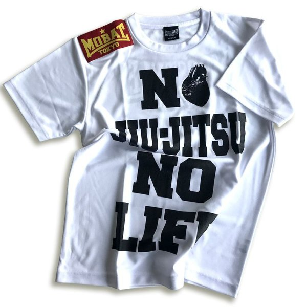 "画像1: ALMA×MOBSTYLES ""NO JIU-JITSU NO LIFE"" Tee (1)"