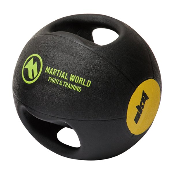 画像1: メディシンボール ダブルグリップタイプ 6kg (1)