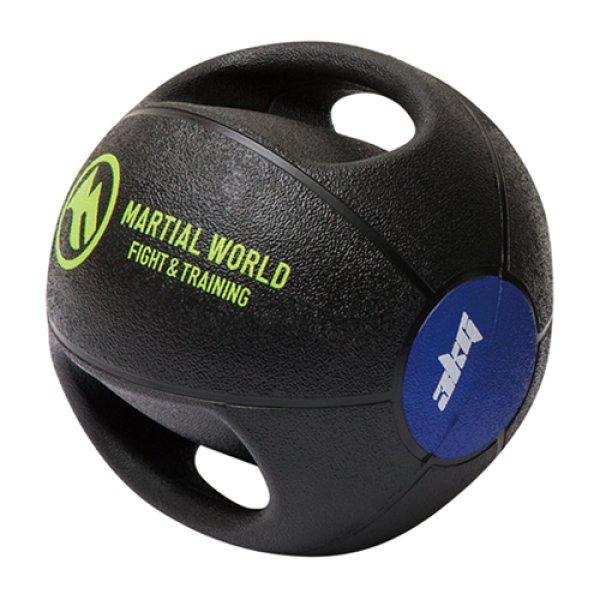 画像1: メディシンボール ダブルグリップタイプ 3kg (1)