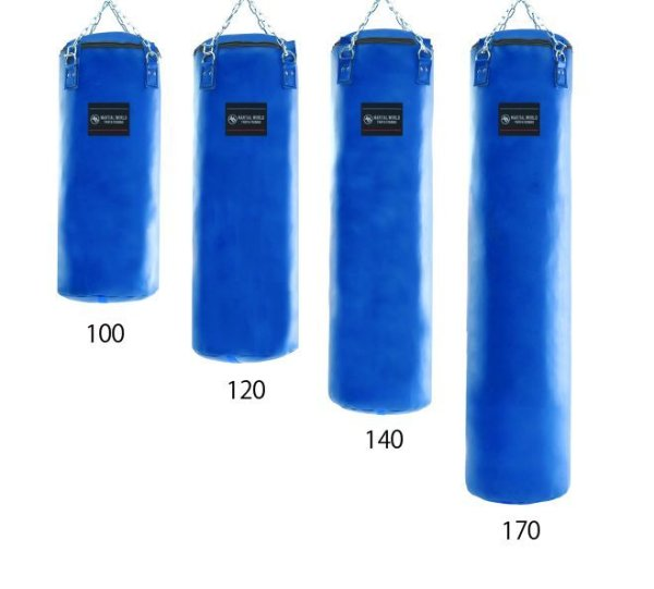 画像1: レザートレーニングバッグ 100cm (1)